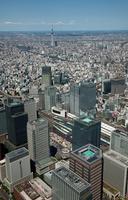 丸ノ内より東京駅と日本橋方面