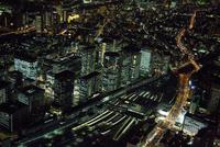 夜の品川駅周辺