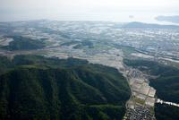 小谷山(小谷城跡)より琵琶湖方面