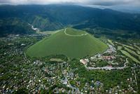 大室山と伊豆シャボテン公園周辺