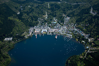 芦ノ湖と箱根
