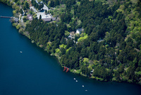 芦ノ湖と箱根神社周辺