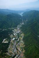 清川村(64号線)より宮ケ瀬湖方面