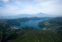 芦ノ湖(箱根,元箱根)より富士山