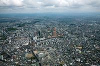 浜松駅と浜松市街地周辺