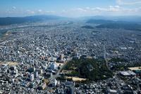 和歌山城より和歌山駅と和歌山市街地