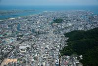 徳島市街地と徳島駅周辺