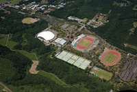 秋田県立中央公園球技場・陸上競技場周辺