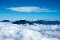 雲海より日光連峰