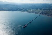 太平洋セメント専用桟橋と函館湾