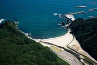 三陸海岸(普代浜海水浴場)周辺