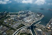 仙台火力発電所と新日本石油精製仙台製油所,飛ケ崎周辺