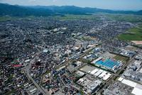 鶴岡駅と鶴岡市街地周辺