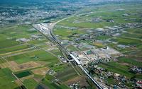 新函館北斗駅(北海道新幹線)と函館新幹線総合車両所周辺