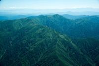 朝日連峰(袖朝日岳,西朝日岳,大朝日岳)磐梯朝日国立公園