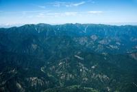 飯豊連峰(小国町,大丸森山周辺より飯豊山方面)磐梯朝日国立公園
