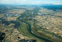 渡良瀬川(大島町より上流方面)