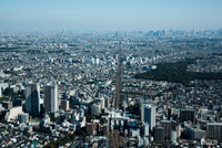 三鷹駅周辺より吉祥寺,新宿,都心方面