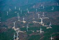 青山高原の風力発電施設群(青山ウインドファーム)