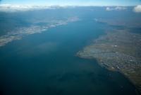琵琶湖(琵琶湖南岸より北方面)