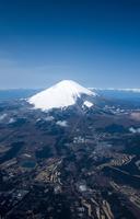 小山地区より富士山