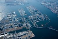 東京港と有明,お台場周辺