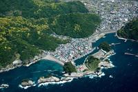 蛇島,東浜海岸,沢田公園,仁科漁港周辺(堂ヶ島) 25397016576| 写真素材・ストックフォト・画像・イラスト素材|アマナイメージズ