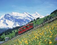 アルプスと登山電車
