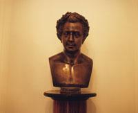 モーツァルトの胸像 モーツァルト記念館
