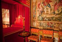 ヴォールヴィコント城のニコラフーケの寝室