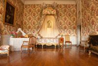 ヴォールヴィコント城のルイ15世の寝室