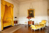 ヴォールヴィコント城のルイ16世の寝室