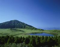 草千里と烏帽子岳