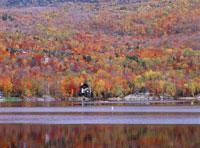 ロレンシャン高原 トレンブラン湖 25456002250| 写真素材・ストックフォト・画像・イラスト素材|アマナイメージズ