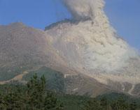 雲仙普賢岳溶岩ドーム火砕流