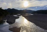熊野川暮色