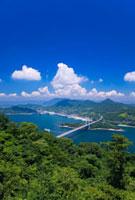 大島 伯方・大島大橋と伯方島 しまなみ海道