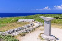 蛇の道と日本最南端之碑 波照間島