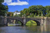 江戸城 皇居正門石橋と伏見櫓 25516049468| 写真素材・ストックフォト・画像・イラスト素材|アマナイメージズ