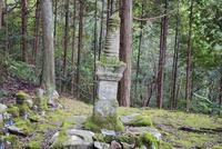 尼子晴久の墓 月山富田城