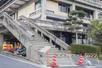 鳥取県中部地震 倉吉市役所