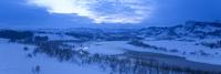 冬の信濃川