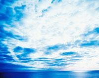 海と雲 サロベツ海岸