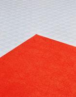 赤と白の和紙 25553001943| 写真素材・ストックフォト・画像・イラスト素材|アマナイメージズ