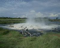 北ルエンゾリ山地の温泉