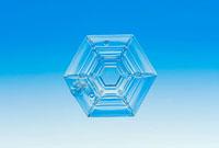 雪の結晶 角板6花