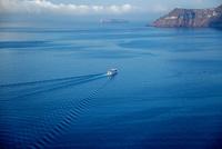 サントリーニ島 イアから眺めるエーゲ海