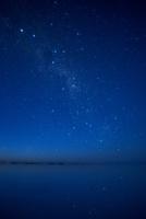 ウユニ湖のケンタウルス座・南十字星・竜骨座