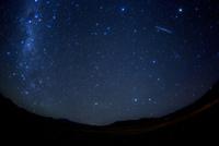 南半球の西の空に沈む南十字星,竜骨座,しし座