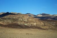 アーティスツパレットのカラフルな岩山